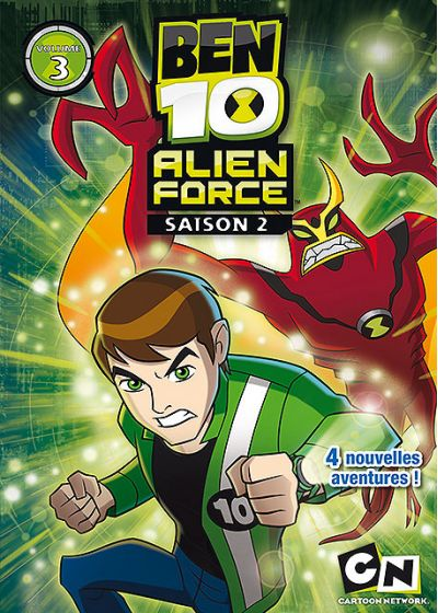 Ben 10 Alien Force - Saison 2 - Volume 3 - DVD