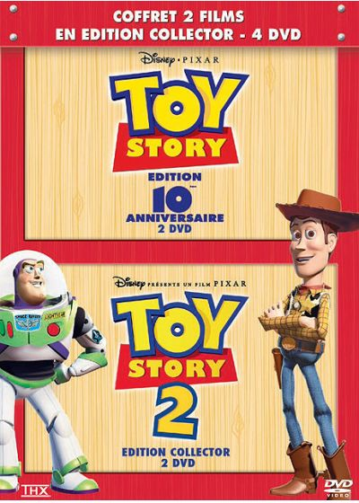Toy Story + Toy Story 2 (Pack) - DVD