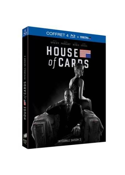 House of Cards - Saison 2 (Blu-ray + Copie digitale) - Blu-ray