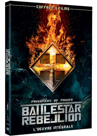 Battlestar Rebellion - Prisoners of Power : L'oeuvre intégrale - DVD