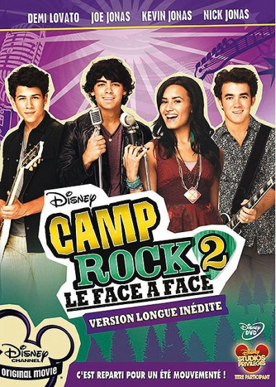 Camp Rock 2 (Version longue inédite) - DVD