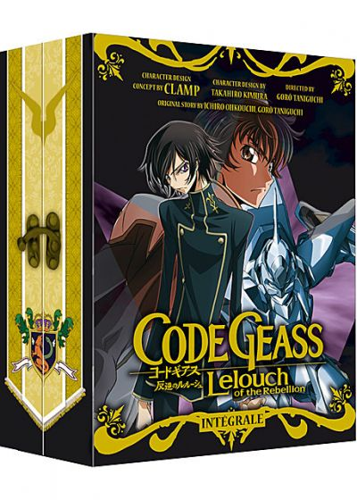 Code Geass - Lelouch of the Rebellion - Intégrale Saison 1 (Édition Collector) - DVD