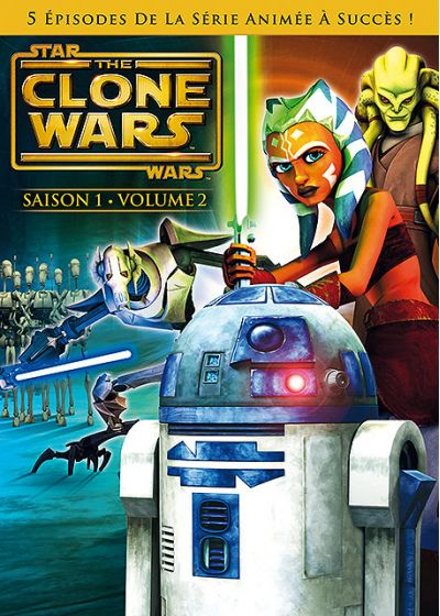 Star Wars - The Clone Wars - Saison 1 - Volume 2 - DVD