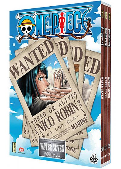 One Piece - Water 7 - Coffret 4 - DVD