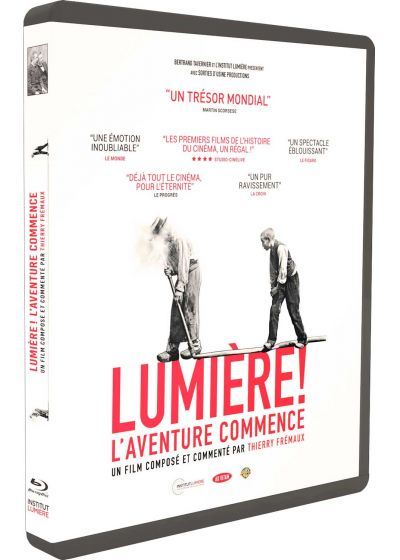 Lumière ! L'Aventure commence - Blu-ray