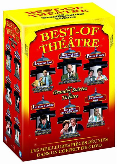 Best of Théâtre - Vo. 1 (Pack) - DVD