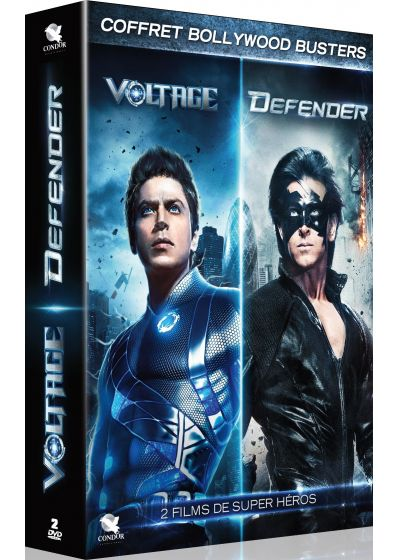 2 films de super-héros : Voltage + Defender (Pack) - DVD