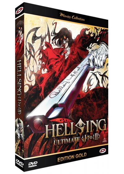 Hellsing Ultimate I & II (Édition Gold) - DVD