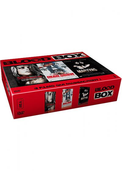 Coffret Blood Box - Dead Snow + Martyrs + All the Boys Love Mandy Lane - DVD