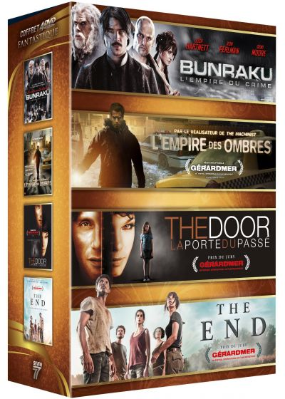 Bunraku + L'Empire des ombres + The Door - La porte du passé + The End (Pack) - DVD