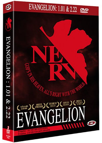Evangelion 1.01 You Are (Not) Alone + Evangelion 2.22 You Can (Not) Advance (Édition NERV) - DVD