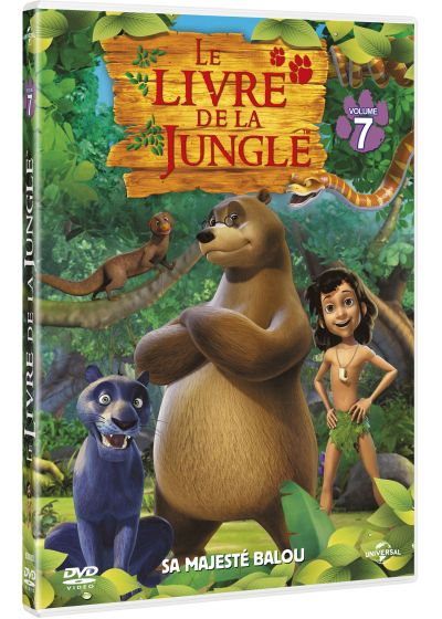 Le Livre de la jungle - Volume 7 - Sa Majesté Balou - DVD