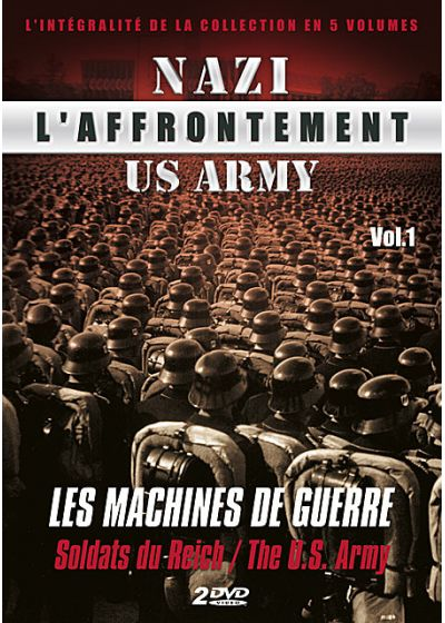 L'Affrontement Nazi-US Army - Vol. 1 : Les machines de guerre - DVD