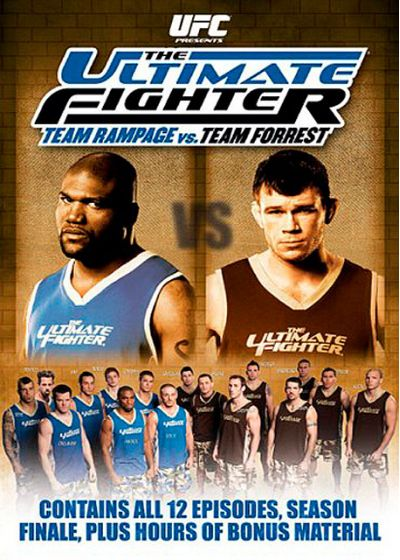 UFC : The Ultimate Fighter 7 - Team Rampage vs Team Forrest - DVD