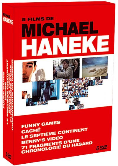 5 films de Michael Haneke : Funny Games + Caché + Le septième continent + Benny's Video + 71 fragments d'une chronologie du hasard (Pack) - DVD