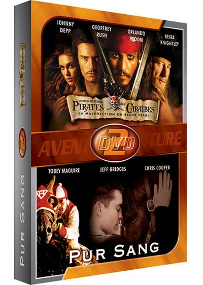 Pirates des Caraïbes, la malédiction du Black Pearl + Pur Sang, la légende de Seabiscuit - DVD
