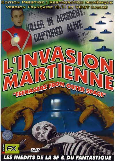 L'Invasion martienne - DVD