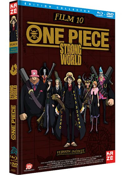 One Piece - Le Film 10 : Strong World (Édition Collector) - Blu-ray