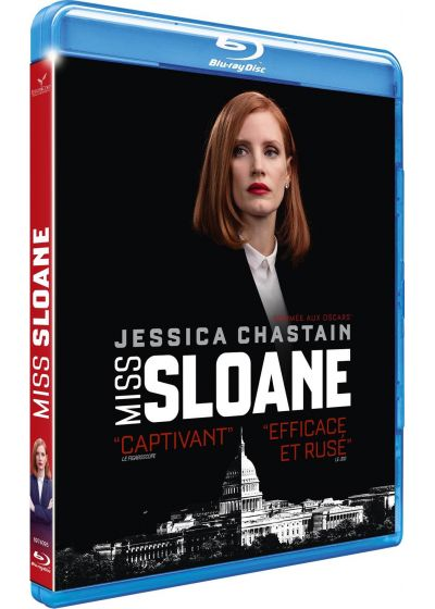 Miss Sloane (Blu-ray + Digital HD) - Blu-ray