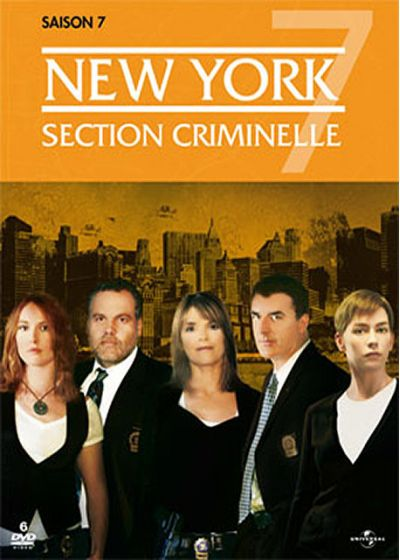 New York, section criminelle - Saison 7 - DVD