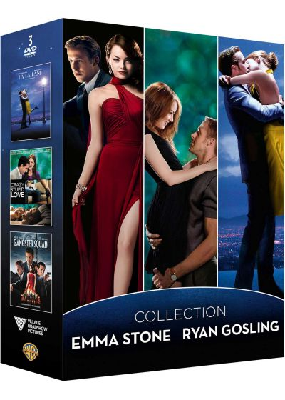 Collection Emma Stone Ryan Gosling - Coffret : Gangster Squad + La La Land + Crazy Stupid Love (Pack) - DVD