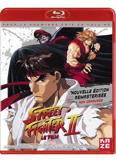 Street Fighter II : Le Film (Non censuré) - Blu-ray