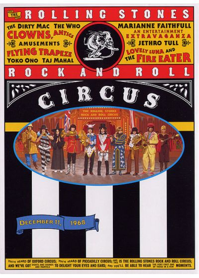 The Rolling Stones - Rock And Roll Circus - DVD