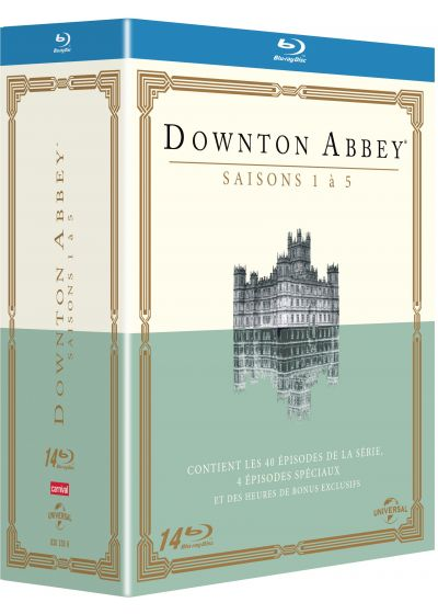 Downton Abbey - Saisons 1 à 5 - Blu-ray