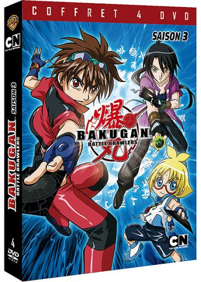 Bakugan Battle Brawlers - Saison 3 - DVD