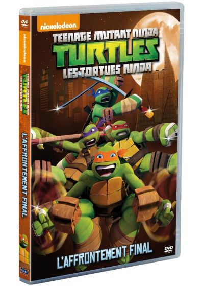 Les Tortues Ninja - Vol. 4 : L'affrontement final - DVD