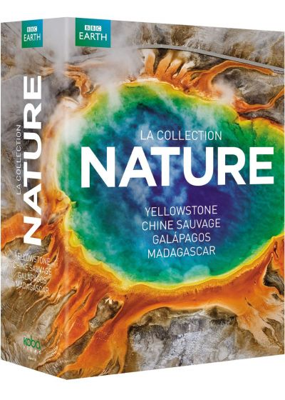 BBC Earth : Yellowstone + Madagascar + Chine sauvage + Galapagos (Pack) - DVD