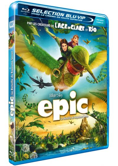 Epic - La bataille du Royaume Secret (Combo Blu-ray + DVD) - Blu-ray