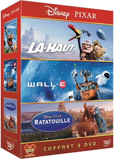 Là-haut + WALL-E + Ratatouille (Pack) - DVD