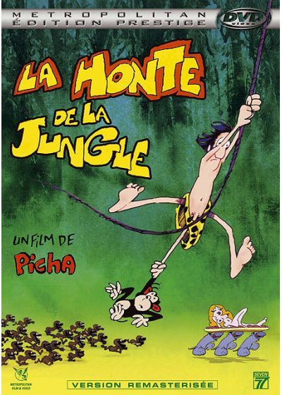 La Honte de la jungle (Édition Prestige) - DVD