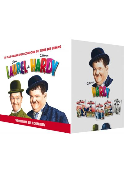 Laurel & Hardy - Versions en couleurs - DVD