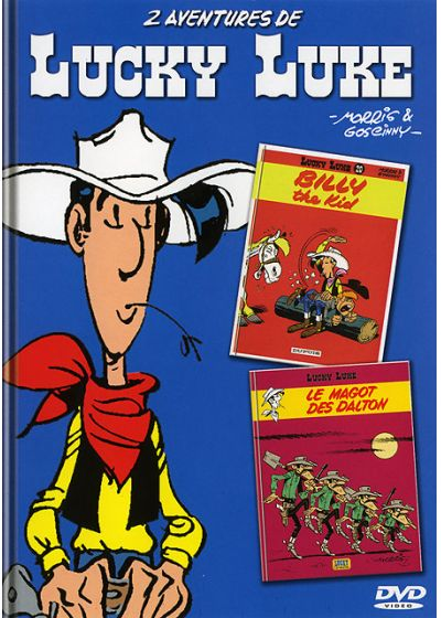 Lucky Luke - Billy the Kid + Le magot des Dalton - DVD