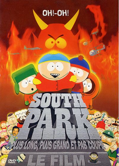 South Park, le film - Plus long, plus grand et pas coupé - DVD
