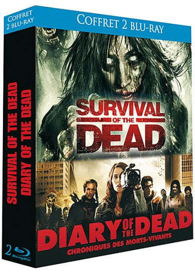 Survival of the Dead + Diary of the Dead (Pack) - Blu-ray