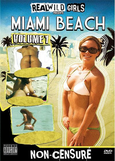 Real Wild Girls vol.1 - Miami Beach vol.1 (Non censuré) - DVD