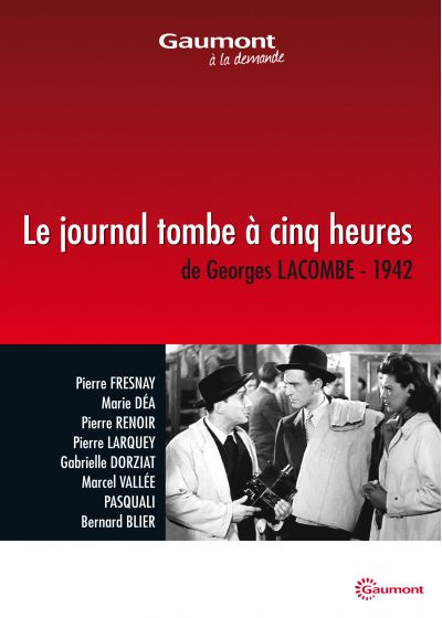 Le Journal tombe à cinq heures - DVD