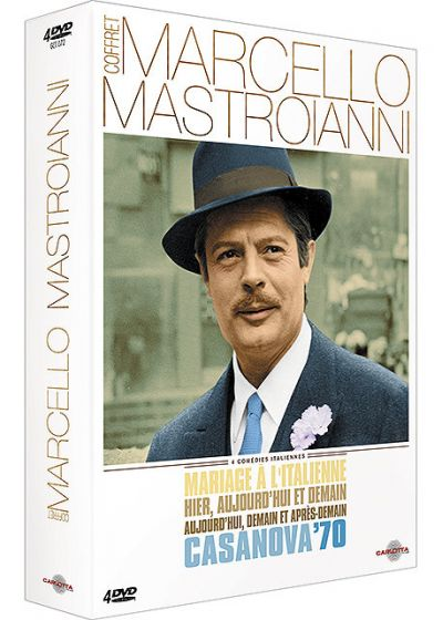 Coffret Marcello Mastroiani (Pack) - DVD