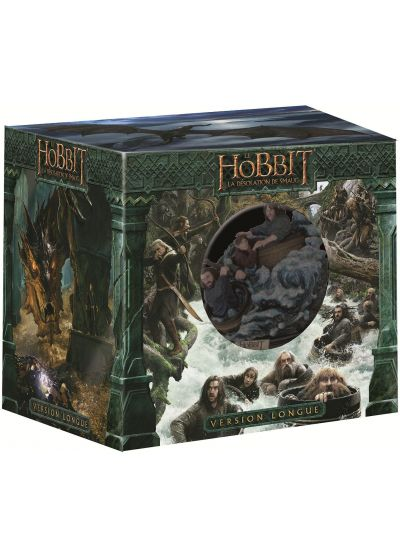 Le Hobbit : La désolation de Smaug (Version longue + Statue collector - Blu-ray 3D + Blu-ray + DVD + Copie digitale - Édition Limitée) - Blu-ray 3D