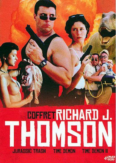 Coffret Richard J. Thomson : Jurassic Trash + Time Demon + Time Demon II - DVD