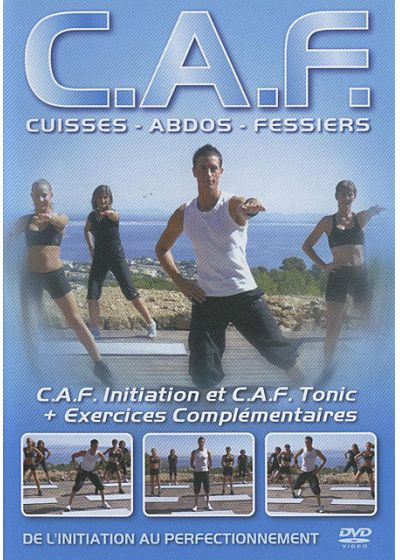 C.A.F. - Cuisses, abdos, fessiers - De l'initiation au perfectionnement (Édition Collector) - DVD