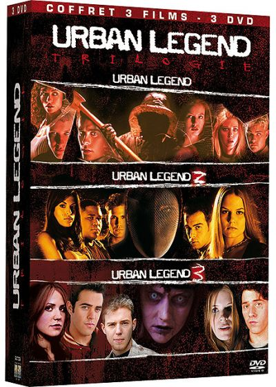 Urban Legend - La trilogie (Pack) - DVD