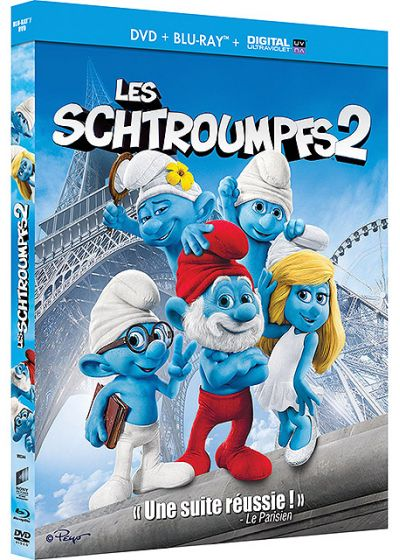 Les Schtroumpfs 2 (Combo Blu-ray + DVD + Copie digitale) - Blu-ray