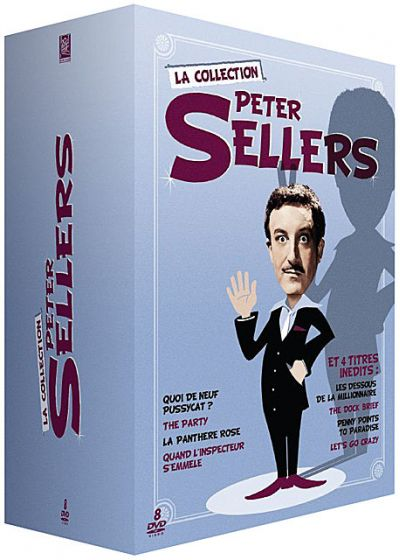 Peter Sellers, la collection - Coffret 10 films (Pack) - DVD