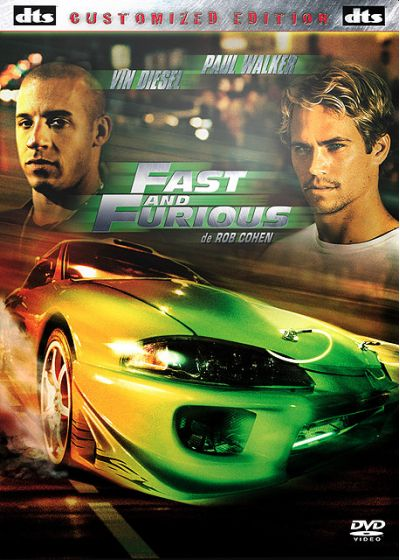 Fast and Furious (Customized Edition) - DVD
