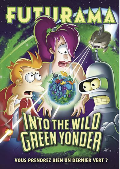 Futurama - Into the Wild Green Yonder - DVD