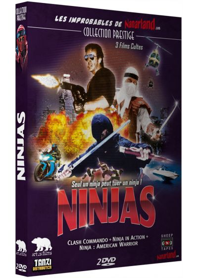 Ninjas : Clash of the Ninjas + Ninjas in Action + Ninjas : American Warrior - DVD